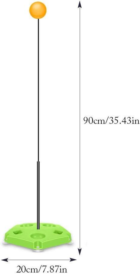 CampHiking Tischtennis Trainer Flederm/äuse Paddel Mit Elastic Soft Shaft Trainingsausr/üstung Kit Sport Tischtennis Spiel Ping Pong Ball Set F/ür Den Innen Oder Au/ßenbereich Erwachsene Kinder