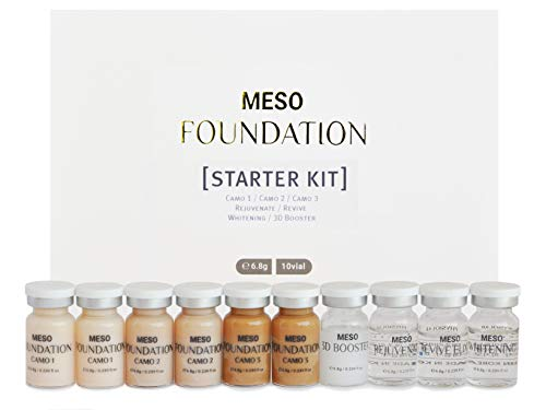 BB Glow Skin Treatment - MTS Meso Ampoule Serum Starter Kit - For Professional Only - Made in Korea