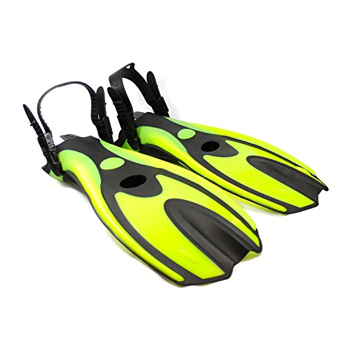 [Fishtown Training Swim Fins - High Performance Swim Fins for Beginners, Comfortable Ergonomic Design, Lightweight and Flexible, Improves Technique and Muscle Strength, Adjustable Strap -] (2 Year Old Costumes Uk)