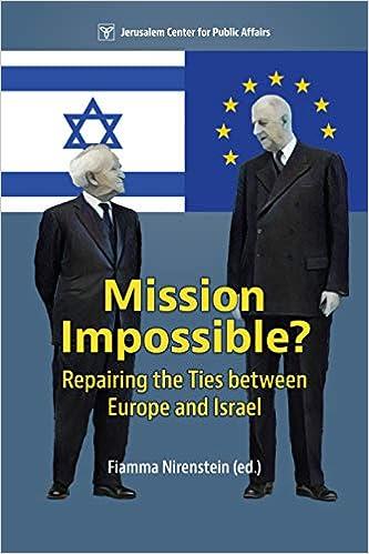 Risultati immagini per missionimposible europe israel fiamma nirenstein