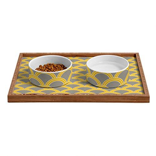 Solstice Feeder (Deny Designs Solstice Stylish Pet Food Bowl, 7