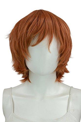 Epic Cosplay Apollo Cocoa Brown Short Wig 13