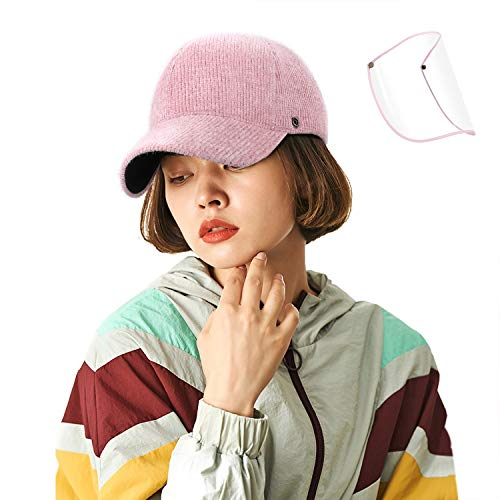 Fashion Winter Baseball Hat Unisex UV Proof Sun Hat Outdoor Adjustable Cap with Hook & Loop Buckle