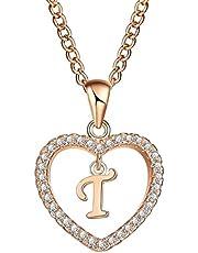 Crystal pendant designed exclusively for heart shape medallion T for women