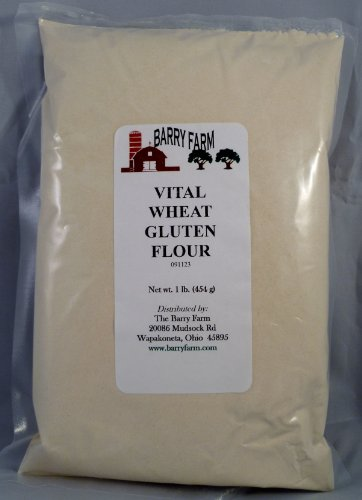 Vital Gluten Flour, 1 lb. by Barry Farm (Farm Vital Wheat Gluten Flour)