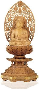 仏像 白檀 座釈迦 2.5寸 監修仏