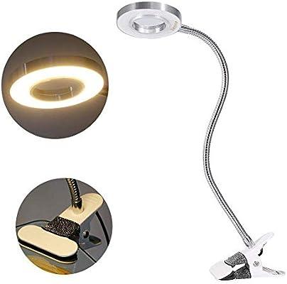 Usb Makeup Beauty Lampe mit warmem Licht f/ür Augenbrauen Clip Manik/üre Extension Wimpern Beauty Lampe
