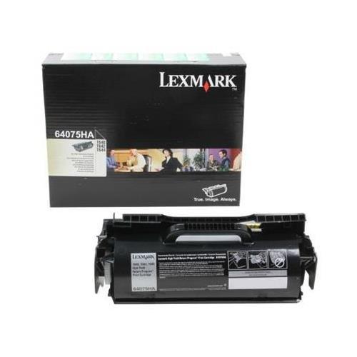 Label Applications 21000 Yield - Lexmark 64075HA OEM Toner - T640 T642 T644 Government High Yield Return Program Toner for Label Applications (21000 Yield) (TAA Compliant Version of 64004HA) OEM