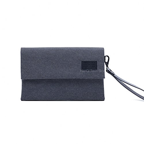 Xiaomi Digital Storage Bag Portable Anti-splashing Bag For Adapter Data Cables Chargers Earphones Accessories Storage (Gray)