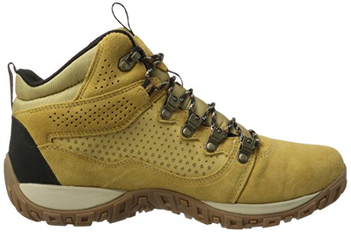 Columbia Peakfreak Venture Mid Suede WP, Stivali da Escursionismo Alti Uomo Beige (Curry, Ancient Fossil 373)