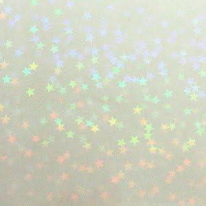 透明ホログラムシート(透明マイクロスター)