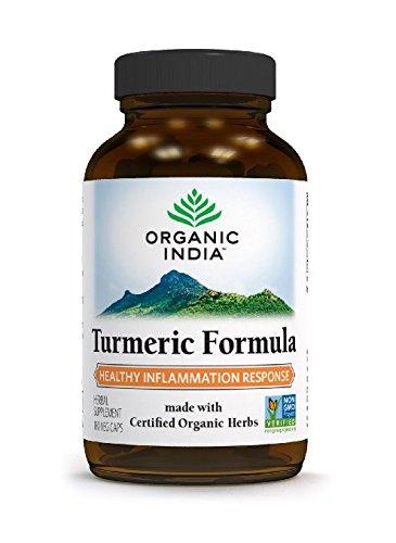 Organic Indian Kurkuma Kapseln