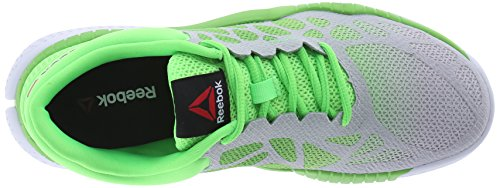 Women's White Training Reebok Solar Green Shoes ZPrint Steel HqfRUf
