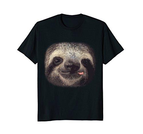 The Mountain Men Sloth Face T-Shirt