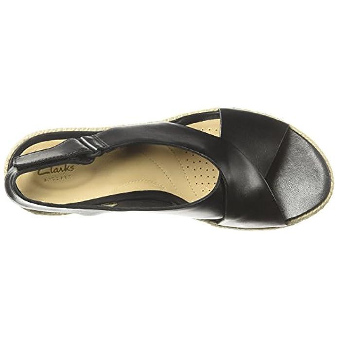 Clarks - Palm Glow Donna Nero black Leather 41 Eu