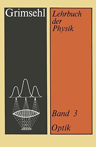 Lehrbuch der Physik, Bd.3, Optik