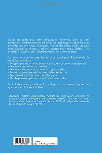 Production écrite DELF B2 (French Edition): Stéphane Wattier: 9791022769891: Amazon.com: Books