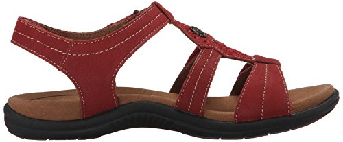 Rockport Cobb Hill Womens Revsoothe Jurk Sandaal Rood