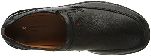 Unnature Clarks Easy Uomo Mocassini Leather Nero Black drqfraZwc4