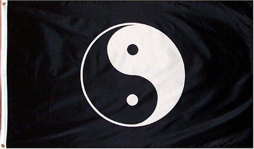 Yin Yang Flag - 3' x 5' Polyester Flag