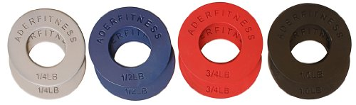 Ader Fitness Olympic Fractional Plates 5 LB Set