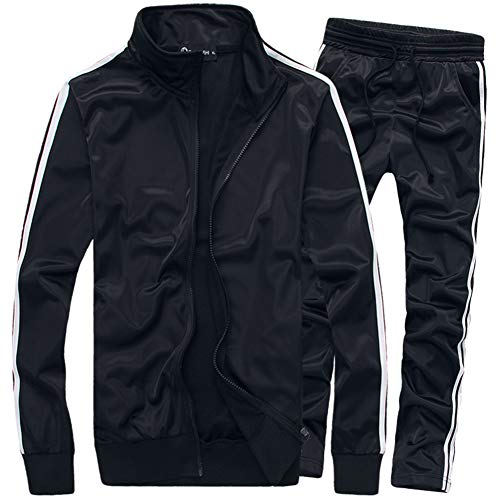 MACHLAB Men's Activewear Full Zi...