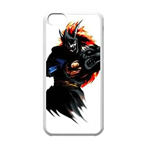 iPhone 5c Cell Phone Case White Street Fighter RBE Custom Clear Phone Case