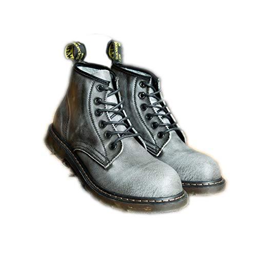 Punk Style, Stivali Uomo Nero Nero 40 EU Gray Plus Velvet