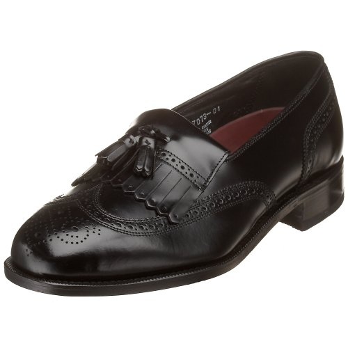 Florsheim Men's Lexington Kilty Tassel Loafer,Black,11 D