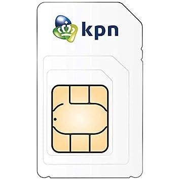 Listo para Usar: Tarjeta SIM 3 en 1 KPN NL, Volumen de Datos ...