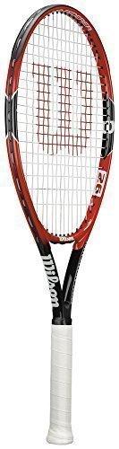 Wilson Schläger Sport Anfänger Level Spieler Federer Junior Tennisschläger - Mehrfarbig, Mehrfarbig, 26
