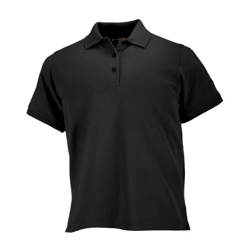 5.11 Women's Performance Polo Short Sleeve Tactical Shirt, Style 61166, Black, M ()