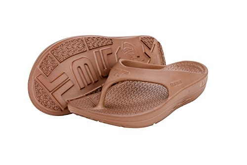 08af407d3f17a4 Telic Terox Unisex Fashion Flip Flop Sandal (Made in the USA) (Large ...