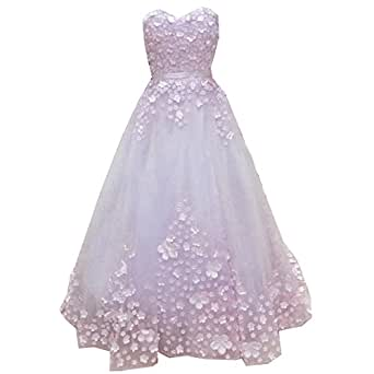Amazon.com: SuperKimJo Floral Prom Dresses Long Puffy