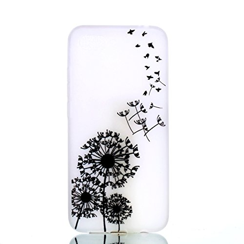 Mince Case Anti Souple Cover Luminous Silicone LOVE Anti pour 10 Glow de Nuit Coque Huawei Coquille scratch Ultra Luminous TPU Protection Luminous Housse YOU Etui Bumper BONROY Series Transparente Dandelion Dream Choc Honor aRBZwAT