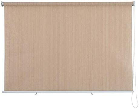 Noname – Outdoor Roller Sun Shade – Sun Block – UV Protection – 165 GSM – Ivory 6 ft x 7 ft