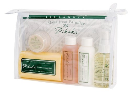- Terranova Pikake Travel Bath and Shower Kit