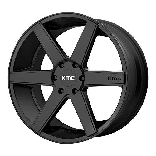 KMC DISTRICT TRUCK SATIN BLACK DISTRICT TRUCK 22x9 6x139.70 SATIN BLACK (30 mm) WHEEL -