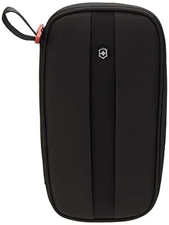Victorinox Unisex Travel Organizer w/ Rfid Protection, Black/Black Logo