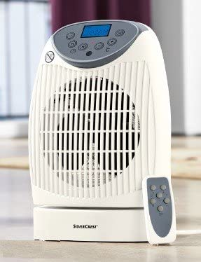 Portable Fan Heater with Remote Control