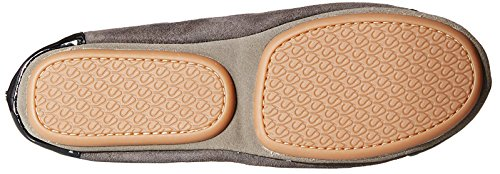 Strap Flat Abbey Ankle Yosi Grey Samra Women's Dark Ballet Black with I0xpO4x