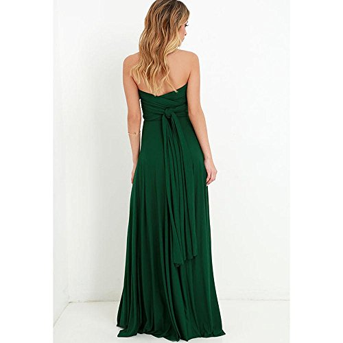 Bridesmaids Maxi Robe Dress Fasciatura Abito SYT Infinity rosso Boho Donne lungo sexy Abito Club green Femme Cabriolet Longue Party qOgfXwp