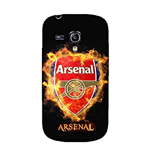 3D Arsenal Football Club Phone Case Cool Customized Protective Cover Case for Samsung Galaxy S3 Mini Arsenal FC Logo
