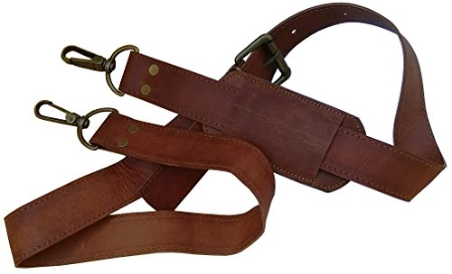 Gbag  Leather Adjustable Padded Replacement Shoulder Strap w