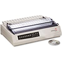Okidata 62412001 OKI Microline 391 Turbo - Printer - monochrome - dot-matrix - 360 dpi - 24 pin - up to 390 char/sec - parallel, USB