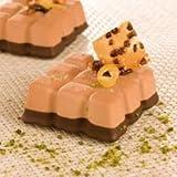 """Sasa Demarle Flexipan® - Chocolate Bars 2.75"""" x 2.75"""" (70 x 70 mm) - 18"""" x 26"""" (400 x 600 mm) - 24 indents"""