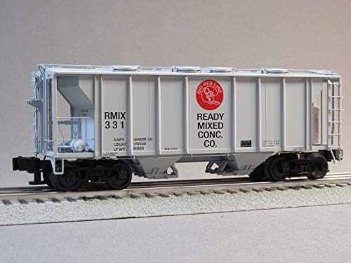 - Lionel Ready Mixed PS-2 Covered Hopper CAR #331 o Gauge
