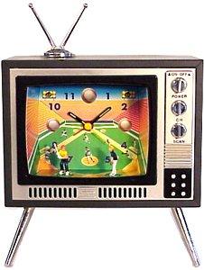 Baseball Sports Television TV Alarm Clock (Golf Alarm Clock)