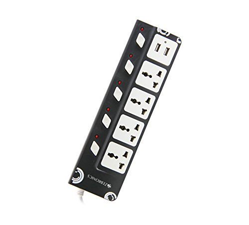 Zebronics ZEB 4PS USB Plus Power Extension Socket with USB Ports