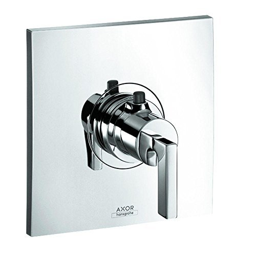 Axor 39711001 Citterio Thermostatic Trim with Lever Handle in Chrome